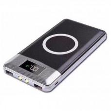 Аккумулятор с беспроводной зарядкой QI Wireless Charger Black (черный)